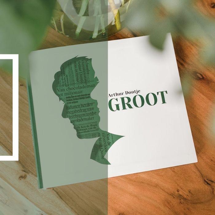Linda van 't Land ghostwriter - ghostwriting boek ondernemer zakelijk schrijven - Groot Arthur Dontje