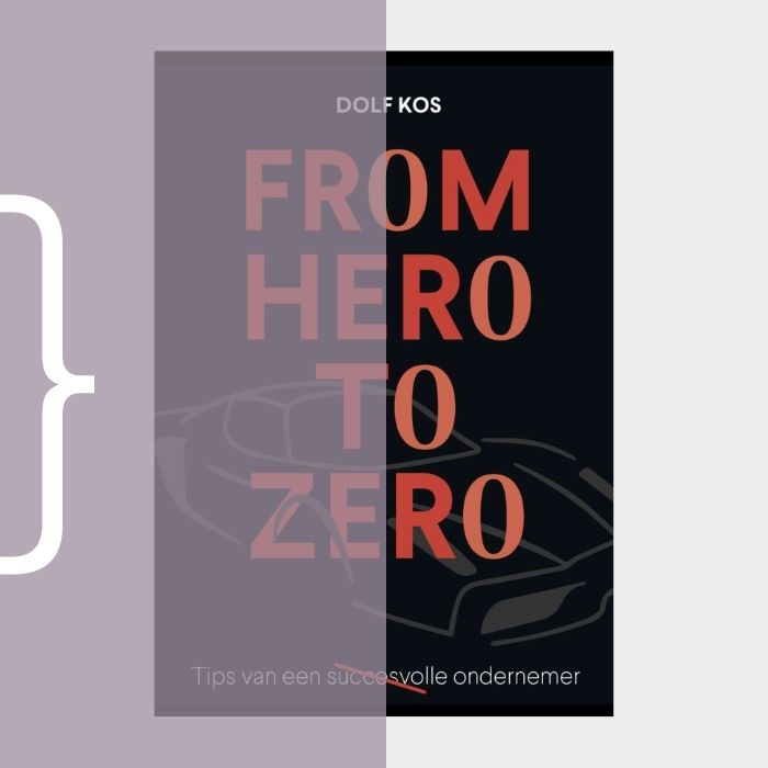 Linda van t Land - Portfolio - Dolf Kos - From hero to zero boek ghostwriting